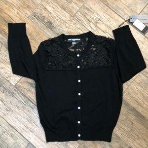 NWT- Karl Lagerfeld Paris Cardigan Sweater